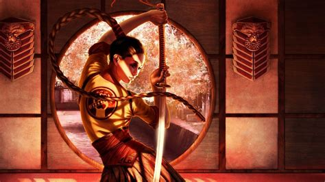 Steve Argyle Fantasy Art Women Samurai Asians Swords X Wallpaper Hot Girls Asians Hd