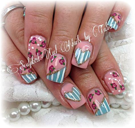 shabby chic nails 12 best shabby chic nails images on pinterest shabby chic nails cute nails and flower nails
