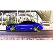 Blue Silk FOSTLADE Mirror Wrap For Hamann BMW M6 F13
