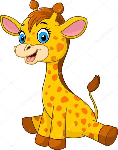 dibujos jirafas jirafa de beb 233 de dibujos animados