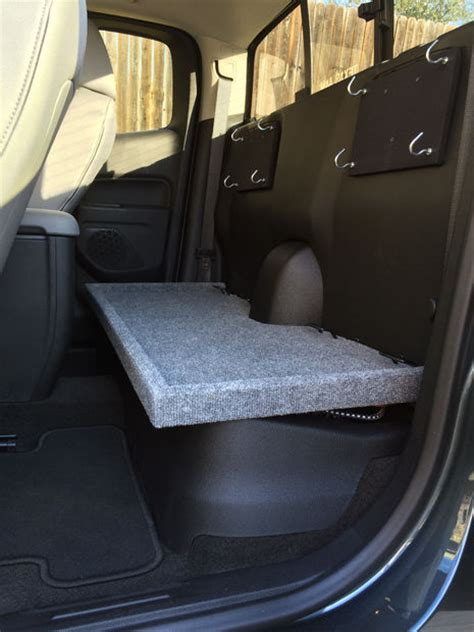 chevy coloradogmc canyon extended cab rear seat removal