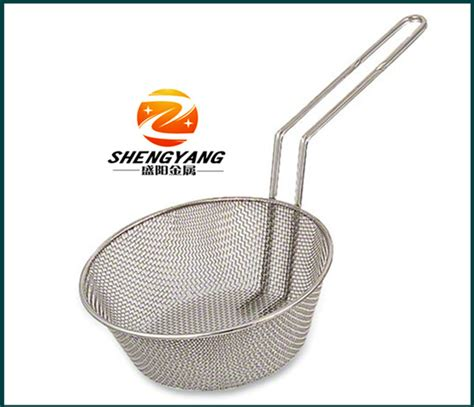 pasta strainer basket easy clean large pasta filters stainless steel table 1419