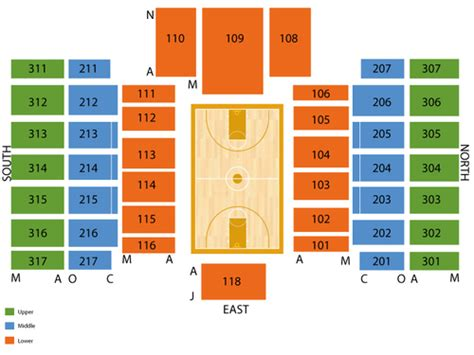 rutgers athletic center rac seating chart