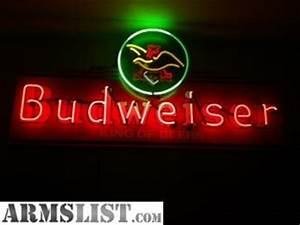 ARMSLIST For Sale Trade Budweiser Neon Sign