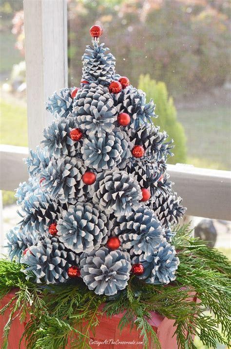 pine cone christmas trees pine cone
