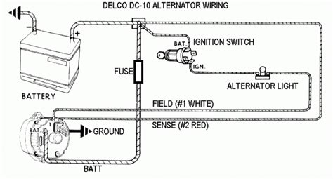 Delco Remy Alternator Wiring Diagram Fuse Box
