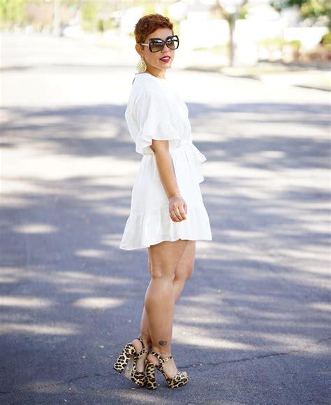 white linen dress  tie belt mimi  style