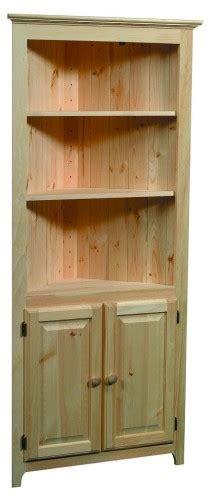 archbold pine shaker corner cabinet oak factory outlet