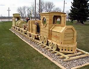 Woodwork Projects Wood Train Plan PDF Plans