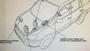 Honda Pilot  2008  U0026 Up  Catalytic Converter Bank 1 Removal