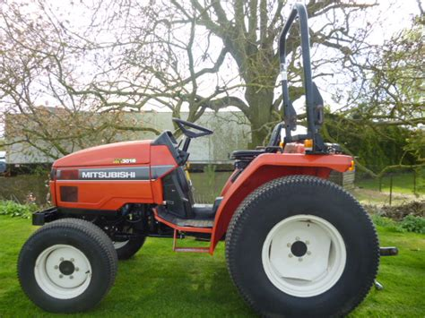 Mitsubishi Compact Tractor by Mitsubishi Mt301hd Compact Tractor 4x4 30hp Hst Rops 3