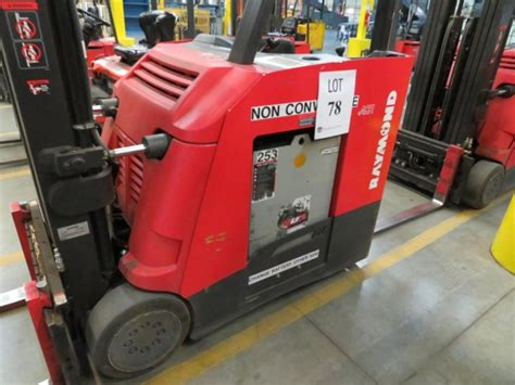 raymond stand  electric forklift model  ctt miles