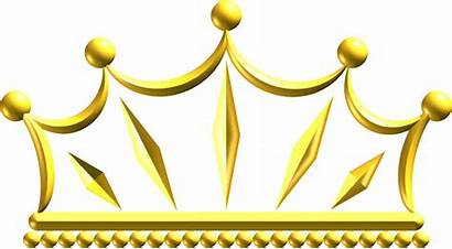 Crown Gold Clipart Tiara Transparent Flower Icons