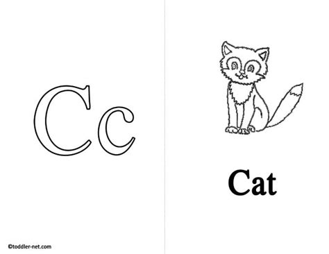 C Is For Cat Letter C Preschool Printable Printable