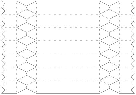 cracker template printable free cracker cut file templates