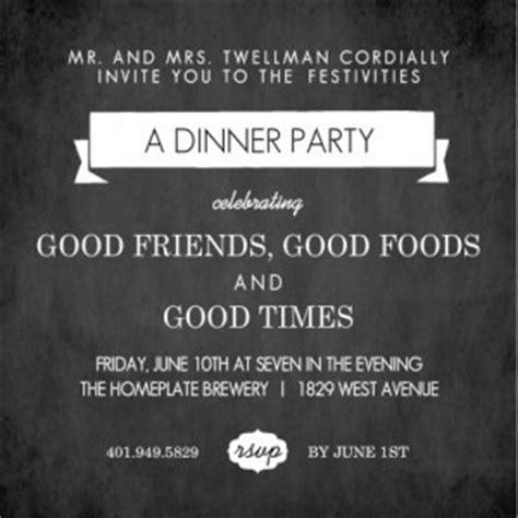 Dinner Party Invite Quotes Quotesgram