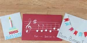 diy hochzeitsgeschenk diy verschiedene geburtstagskarten basteln mydays magazin