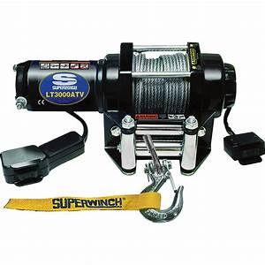 Superwinch 12 Volt Dc Powered Electric Atv Winch  U2014 3000