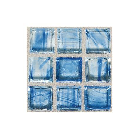 american olean glass mosaic tile shop american olean visionaire clear skies squares