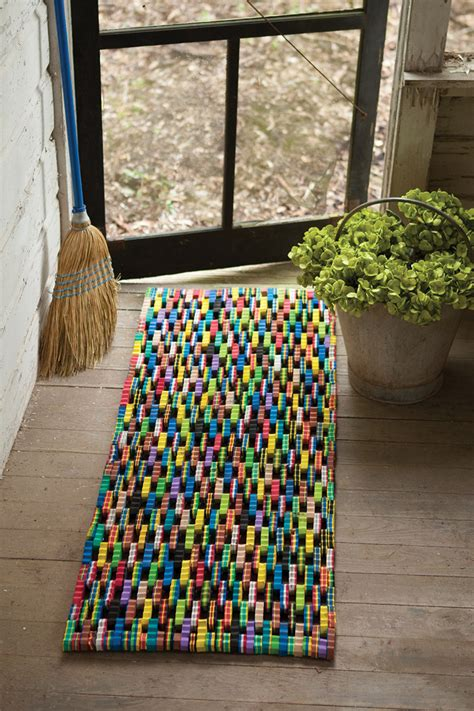 recycled flip flop door mat mats flops doormat atwestend fun left making floor