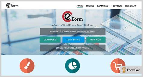 eform form builder 7 form builder plugins free and paid formget