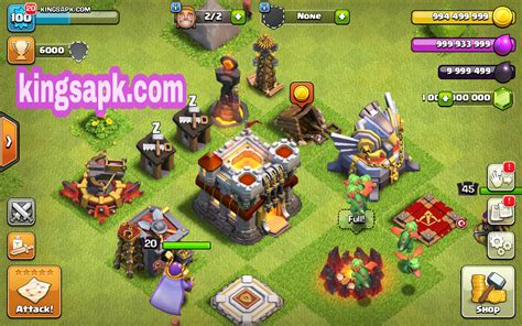 clash of lights com coc clash of lights mod apk v9 256 4 unlimited gems
