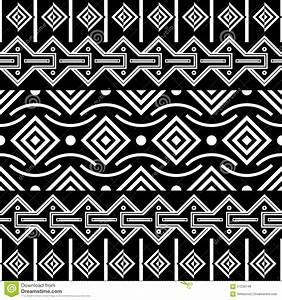 Tribal Seamless Pattern. Ethnic Vector Background Stock ...