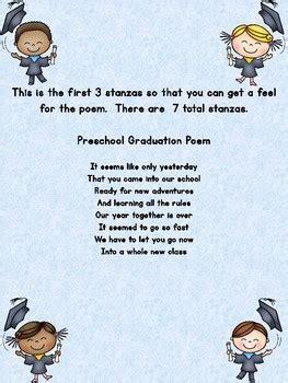 preschool graduation poem for end of year by my kinder 754 | original 713017 4