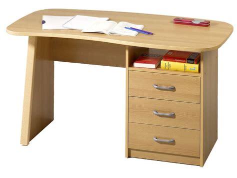 bureau 1 niche 3 tiroirs adam couleur hêtre vente de