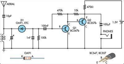 Simple Radio Receiver Circuit Diagram World
