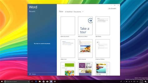 office mobile apps receive fluent design treatment on windows 10 pc windows central