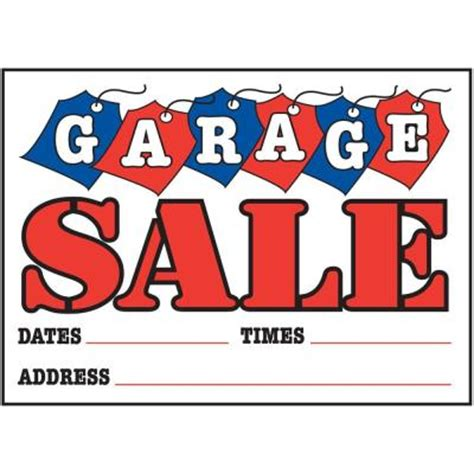 garage signs home depot the hillman 10 in x 14 in plastic garage sign