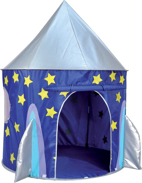 9 ft x 15 ft weather resistant protective rectangular frame trampoline cover. Spirit of Air Kids Kingdom Pop Up Space Rocket Play Tent 13229094132   eBay