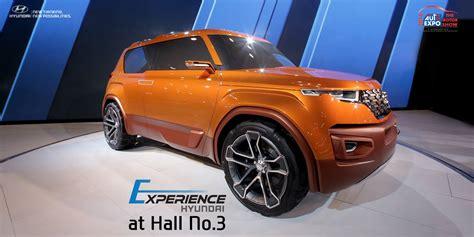 Hyundai Unveils Compact Suv Carlino Concept At Delhi Auto