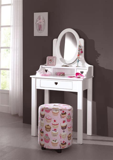 bureau coiffeuse fille coiffeuse fille de la chambre emilie au style romantique