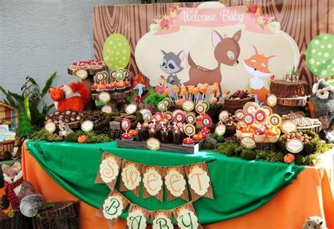 fox party woodland party woodland birthday forest