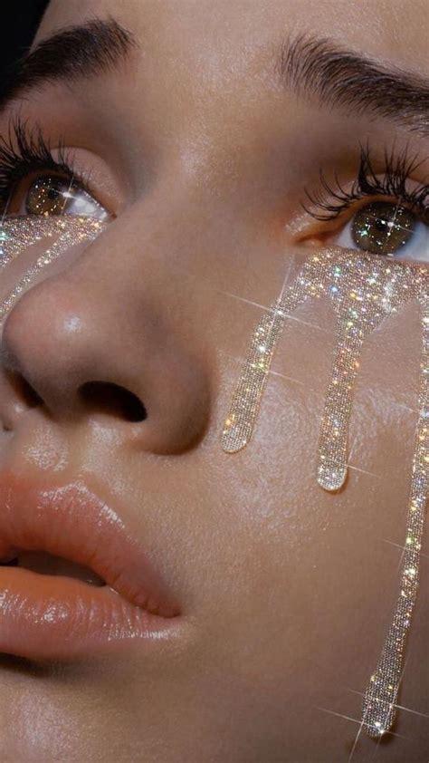 tumblr glitter tears aesthetic smoothskin clearskin pretty sparkles aesthetic eyes