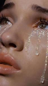 glitter tears aesthetic smoothskin clearskin