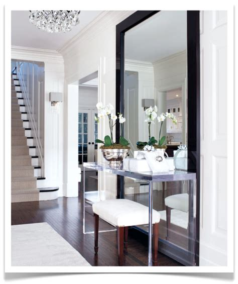floor mirror in entryway foyer ideas an architect suggests architecture ideas
