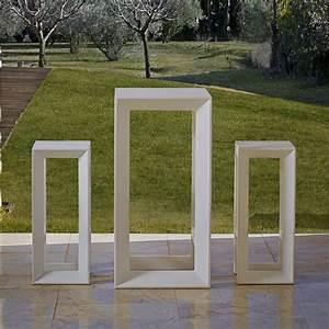 Table Jardin Design : table de bar jardin design frame sur cdc design ~ Melissatoandfro.com Idées de Décoration