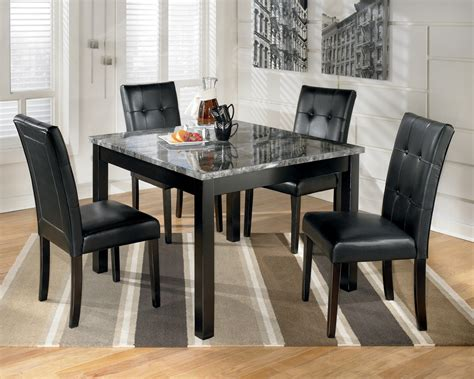 maysville square dining room table set   ashley