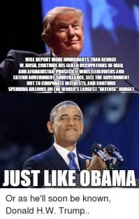Trump Obama Meme