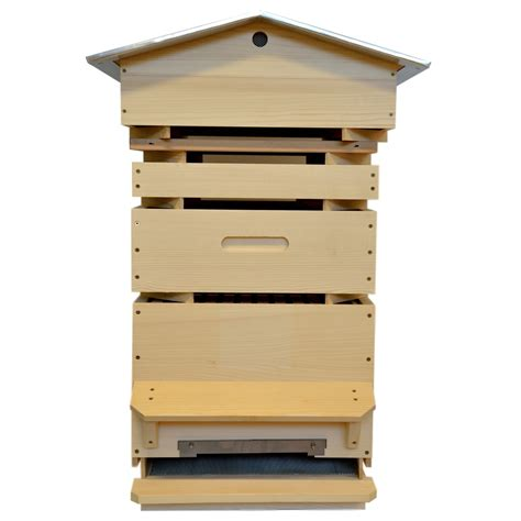 la ruche dadant 12 cadres toit en aluminium les ateliers