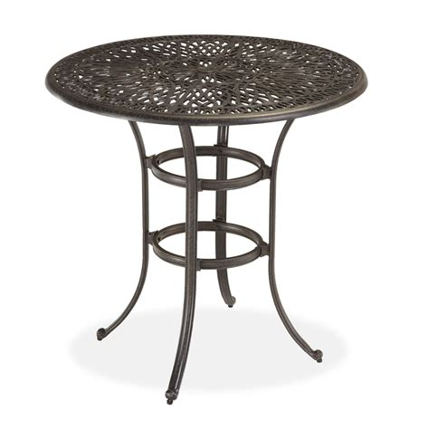 home styles floral blossom bistro table outdoor living