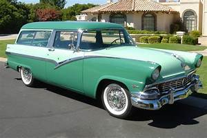 1956 Ford 2 Door Station Wagon