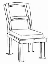 Chair Coloring Printable Mycoloring sketch template