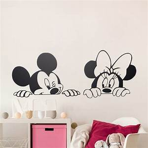 Dessin animé de Mickey Minnie Souris Mignon Animal Vinyle
