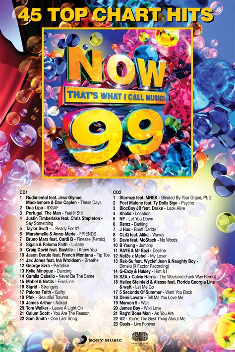 NOW 99 IS OFFICIALLY HERE!! | Now That's What I Call Music