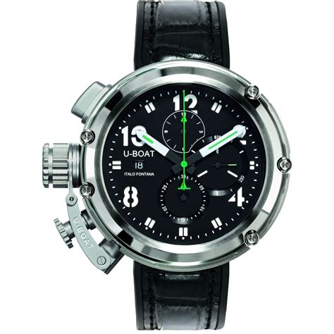 U Boat Replica Watches Review by U Boat Chimera U 51 Green Line Limited Edition