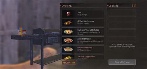 guide daftar resep masakan lifeafter